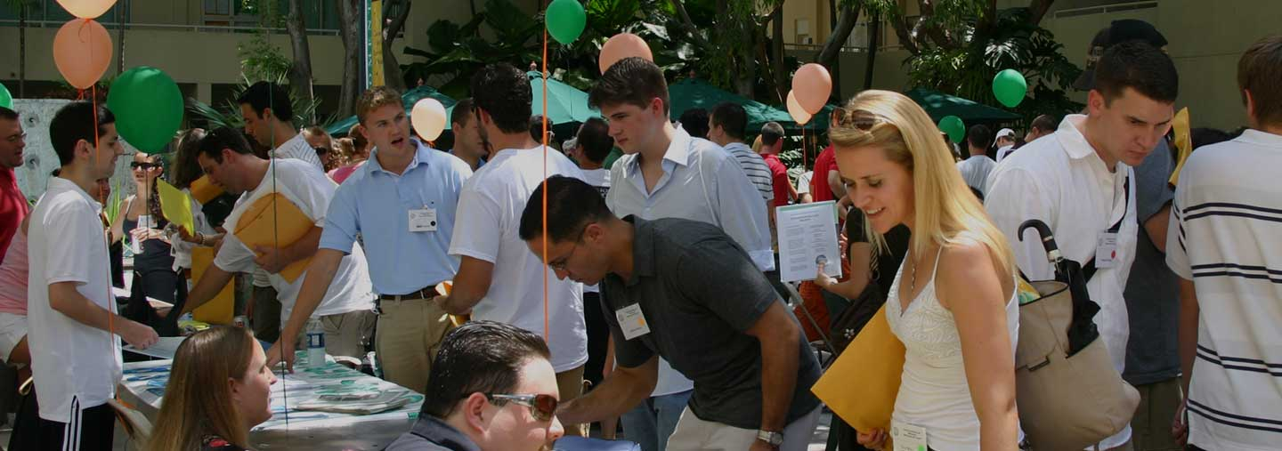 students at law fair