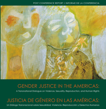 Geneder Justice of the Americas Conference Report Cover