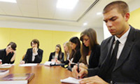 Human Rights and Immigration Clinic students attend Congressional briefings on Haiti deportations in Washington DC.