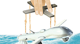 Image: Illustration of military drone