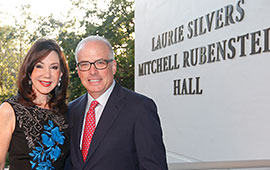 Law School Building Named in Honor of Laurie Silvers, JD '77, and Husband Mitchell Rubenstein