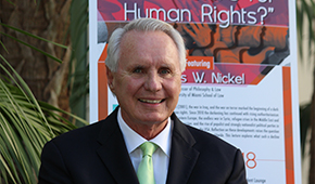 Professor James Nickel Considers Future of Human Rights at Henkin Lectur