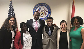 Children & Youth Law Clinic Partners with Youth Policy Advocates in Tallahassee