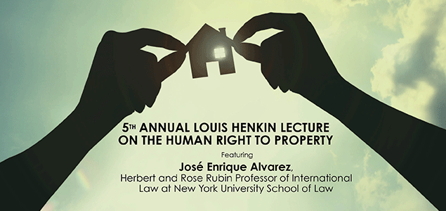 5th Annual Louis Henkin Lecture on Human Rights