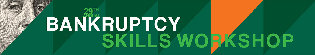 Bankruptcy Skills Workshop