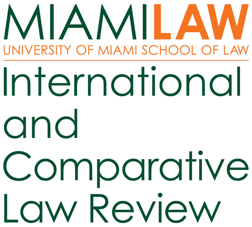 Miami Law International & Comparative Law Review