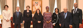 Princess Sabeeka meets Global Award Jury