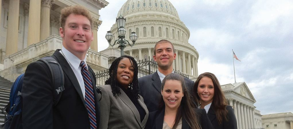 Miami law students in D.C.