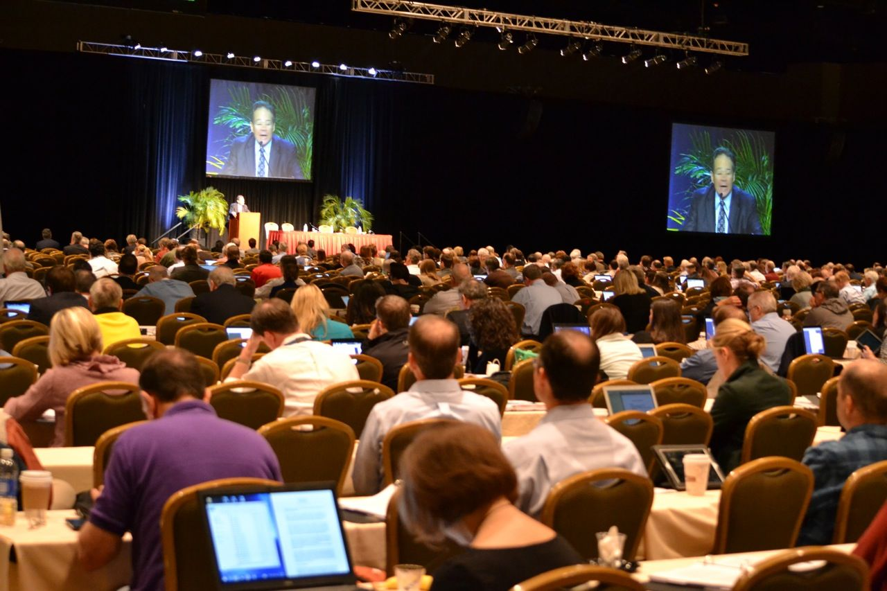 Image of Heckerling Institute crowd