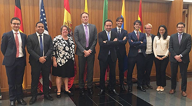 speaker at the XII International Tax meeting organized by the Center of Fiscal Studies of the Universidad Externado de Colombia