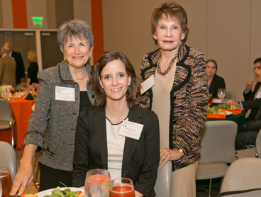 Wendy Lapidus, 3L Lacey Stutz, and Lydia Harrison (Photo: Miami Law)
