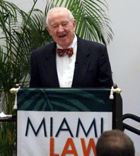 Retired U.S. Supreme Court Justice John Paul Stevens