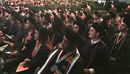 Fall Commencement Marks New Chapter for J.D. and LL.M. Students