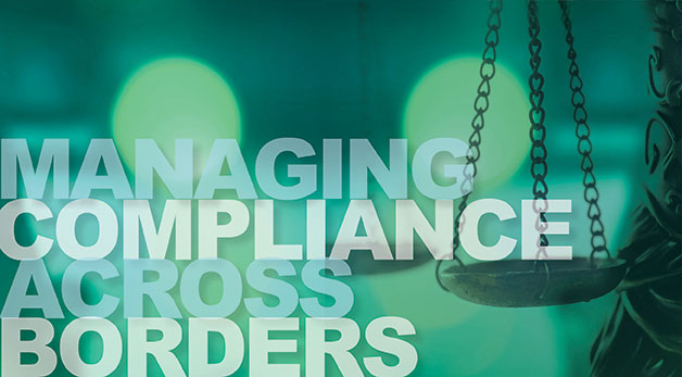 Artwork for Managing Compliance Across the Borders