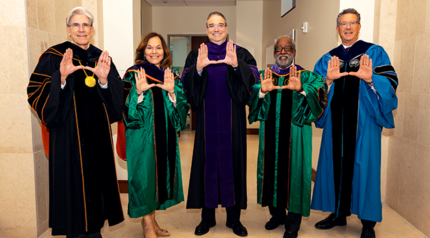 students from the University of Miami School of Law
