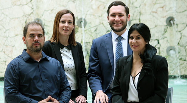 Hailing from Cuba, Lawyers Intern in Health Rights Clinic to Represent Struggling Clients