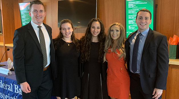 Students from the Federal Bar Association