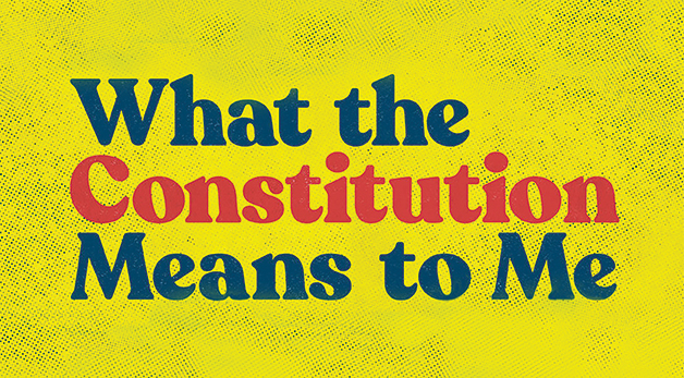 What the Constitution Means to Me artwork