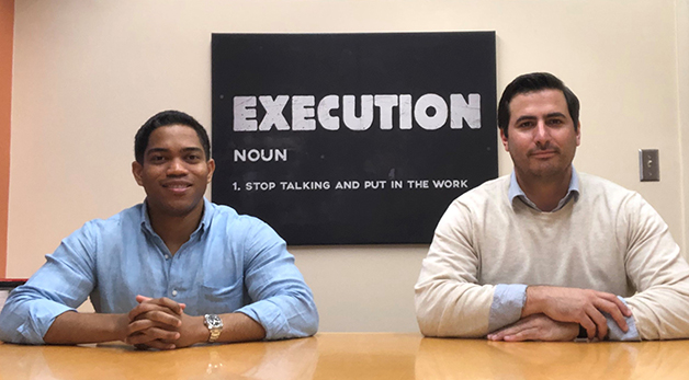 two miami law startup practicum students