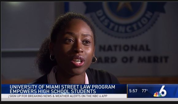 nbc video of street law program